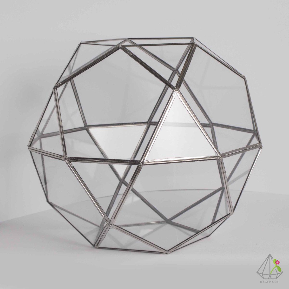 ظروف تراریوم، تراریوم چند وجهی ، تراریوم توپ هندسی ،گلدان شیشه ای، تراریوم، باغ شیشه ای ، فروشگاه اینترنتی کمند
