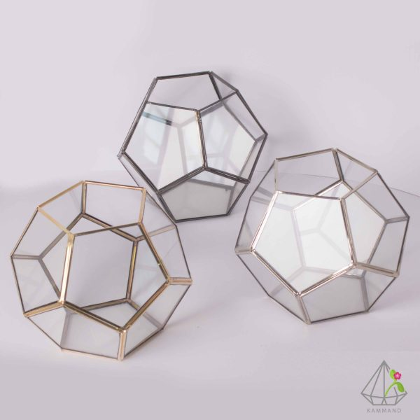 ظروف تراریوم، تراریوم چند وجهی ، تراریوم کروی ،گلدان شیشه ای، تراریوم، باغ شیشه ای ، فروشگاه اینترنتی کمند