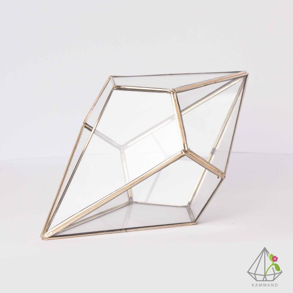 ظروف تراریوم، تراریوم چند وجهی ، تراریوم چند وجهی، تراریوم سنگ الماس ،گلدان شیشه ای، تراریوم، باغ شیشه ای ، فروشگاه اینترنتی کمند